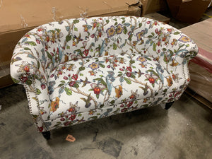 "Quinones Chesterfield 54"" Rolled Arms Loveseat"