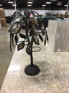 Metal Tree Tea Light Holder #8099