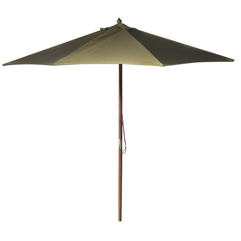 New Haven 9' Market Umbrella Khaki #340HW