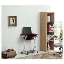 Load image into Gallery viewer, Hodedah Computer Desk Mahogany(575)