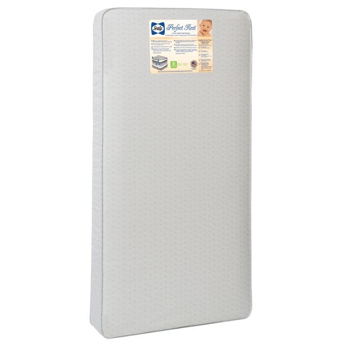 Sealy Baby Perfect Rest Waterproof Standard Crib Mattress(1993RR)
