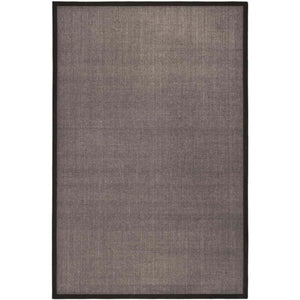 Natural Fiber Charcoal 6 ft. x 9 ft. Indoor Area Rug(1660RR)