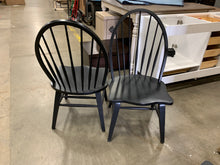 Load image into Gallery viewer, Black Warkentin Dining Chair set of 2
