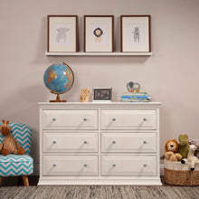 Load image into Gallery viewer, White Signature 6 Drawer Double Dresser(1614RR)