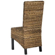 Load image into Gallery viewer, Safavieh Set of 2 Pembrooke Wood Frame Seagrass Chairs(1903RR)
