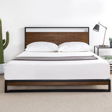 Load image into Gallery viewer, Pauletta Platform Bed King #204HW