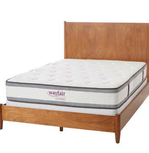 "Wayfair Sleep 10.5"" Firm Hybrid Twin Mattress 38""W x 75""L #23HW"