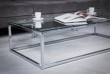 Load image into Gallery viewer, Euro Style Sandor Coffee Table Clear/Chrome(2039)