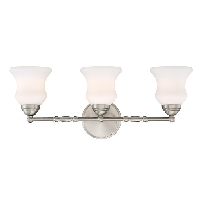 Gilberton 3-Light Dimmable Vanity Light #95HW