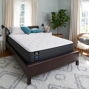 "Sealy Response Performance 12"" Medium Innerspring Mattress Set Queen(750)"