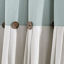 Load image into Gallery viewer, Beckham Window Solid Semi-Sheer Rod Pocket Curtain Panel HA9712
