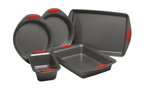 Rachael Ray Yum-O! 5 piece non-stick steel bakeware #282-NT