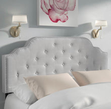 Load image into Gallery viewer, Boylan Upholstered Panel Headboard Full/Queen #8HW