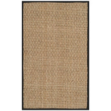 Load image into Gallery viewer, Safavieh Natural Fiber Marina Casual Border Seagrass Rug - 9' x 12' - Black (1750)