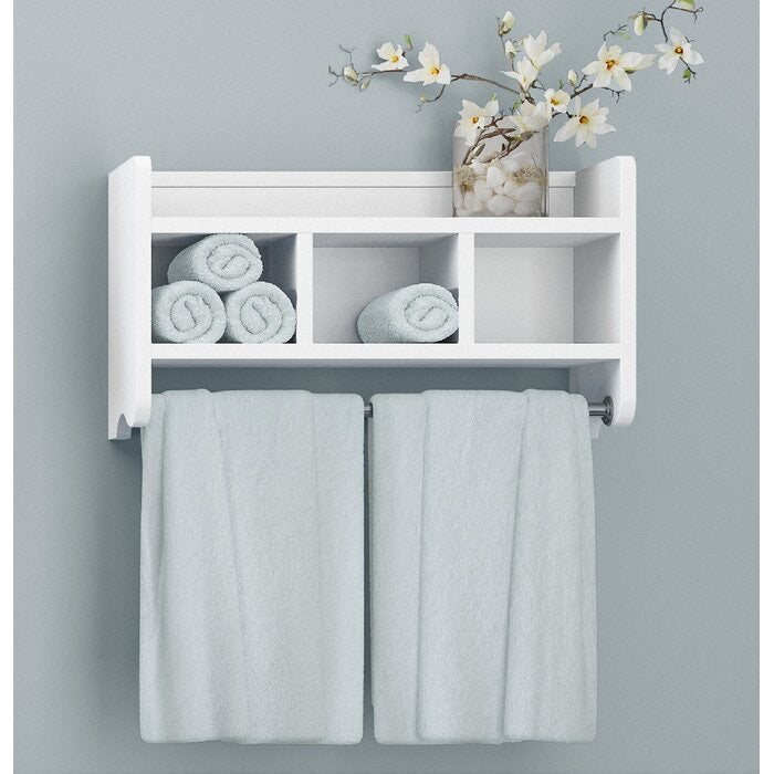 Brixham Wall Shelf White(274)