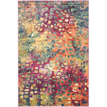 "Load image into Gallery viewer, Safavieh Monaco 4'0"" x 5'7"" Pink/Multi Area Rug (1755)"