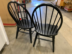 Black Warkentin Dining Chair set of 2