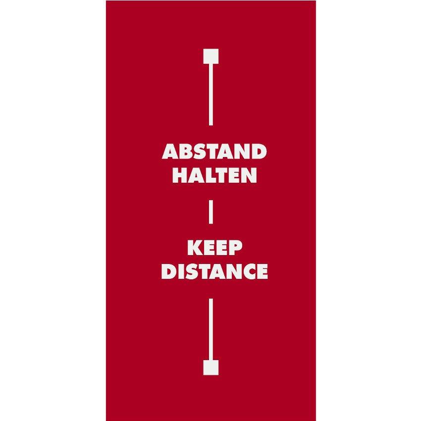 Abstandsteppich Keep Distance