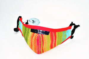Protective Face Mask, Premium Filter - Rainbow
