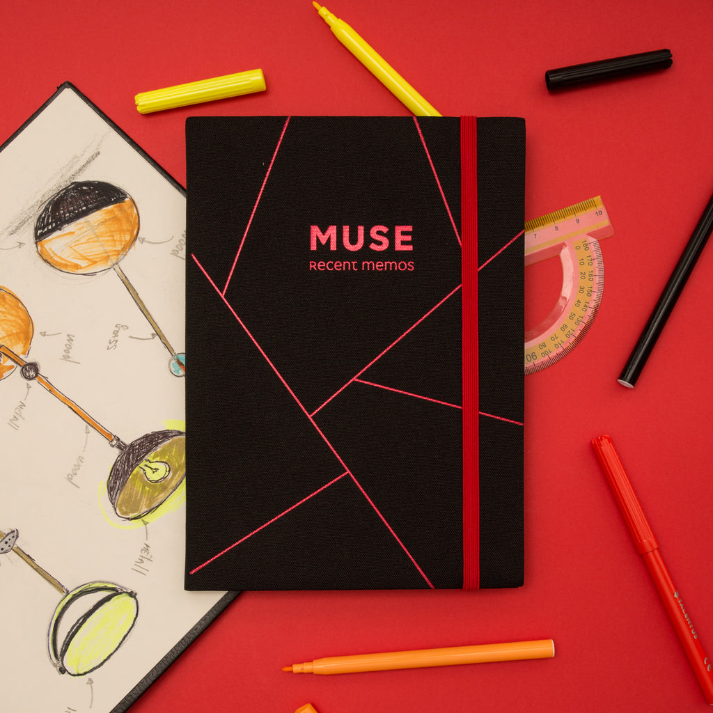 Muse Textile Cover Bullet Journal - Victoria's Journals