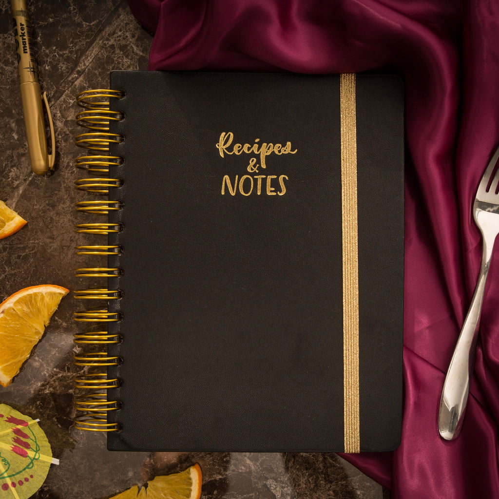 Recipes and Notes Journal - Victoria's Journals