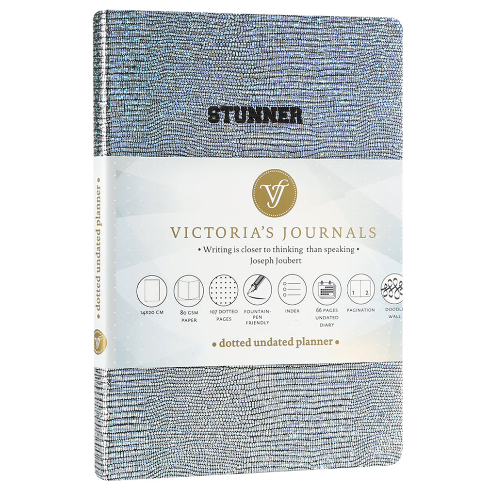 Karisma Stunner Bullet Journal + Undated Diary - Victoria's Journals