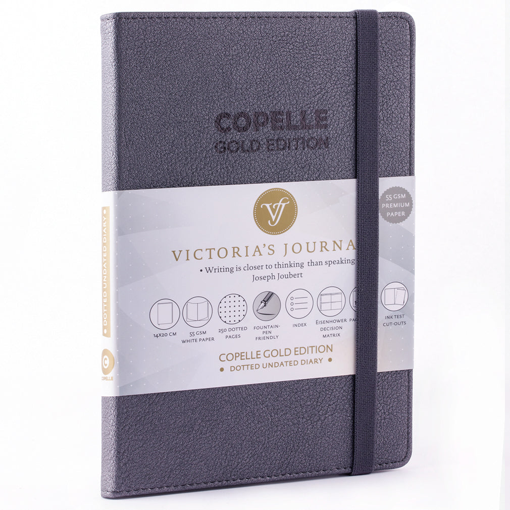 Copelle Bullet Journal Gold Edition - Victoria's Journals