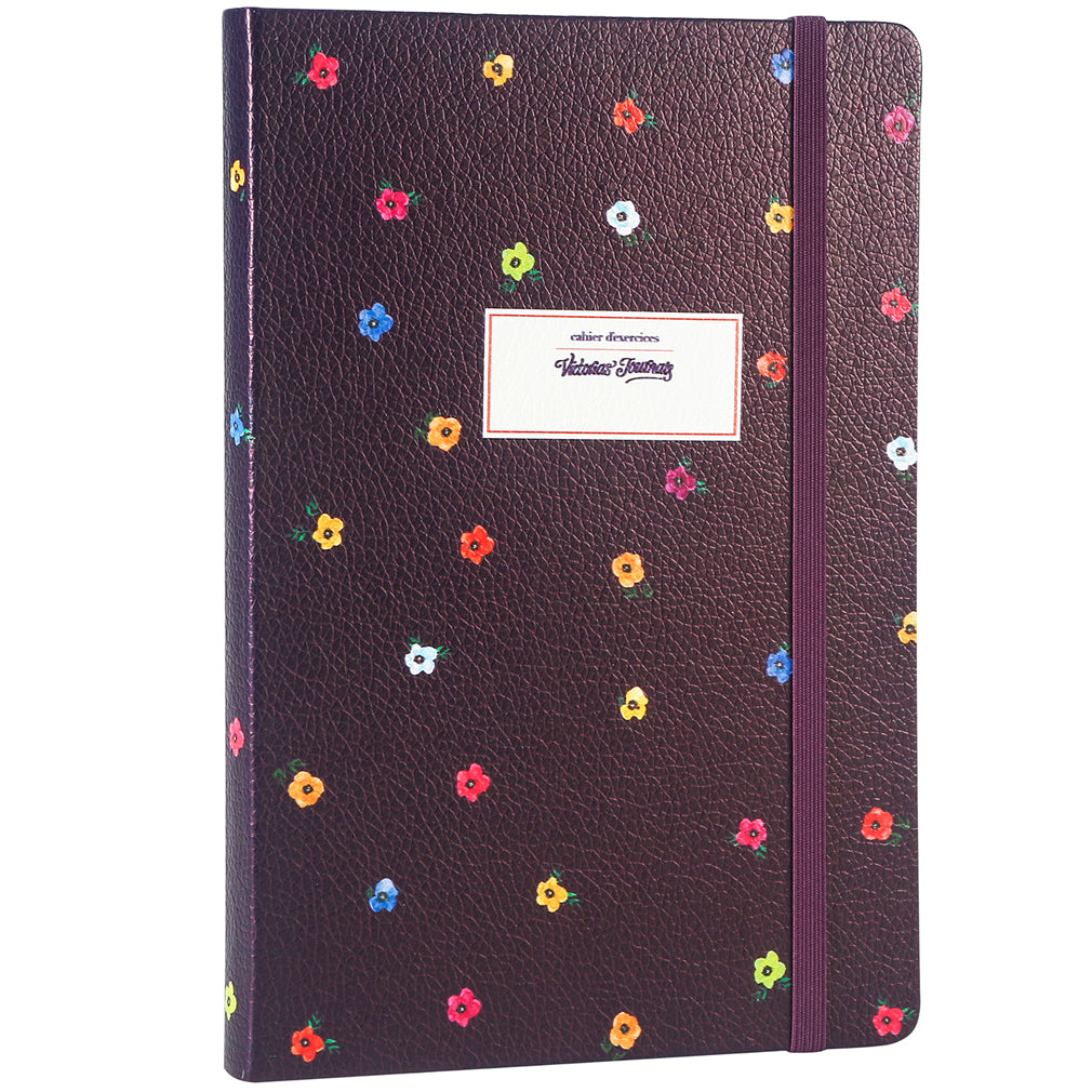 Polka Florals Dotted Bullet Journal - Victoria's Journals
