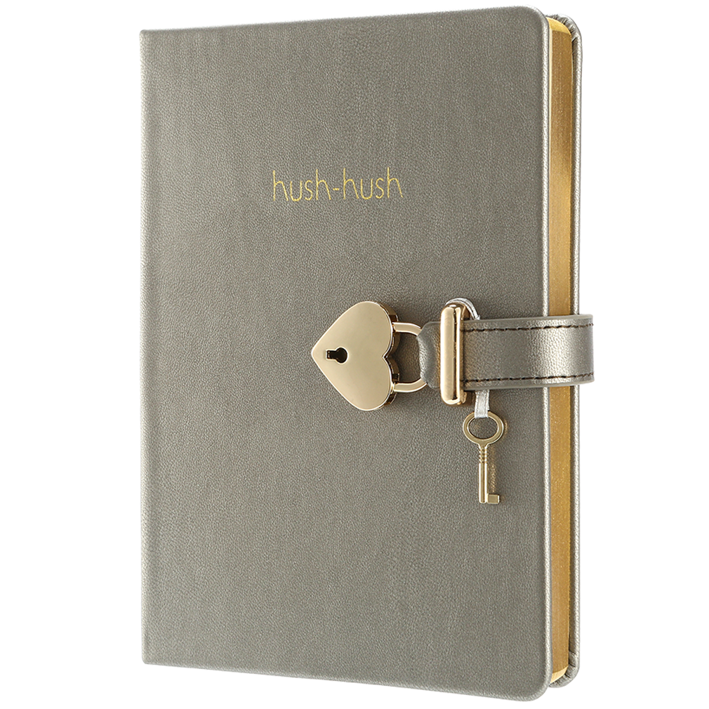 Hush-Hush My Secret Diary Gold Edition - Victoria's Journals