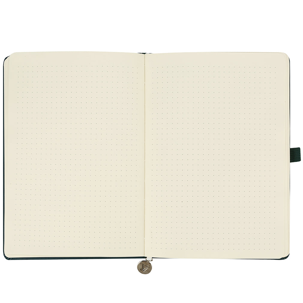 Smyth Hard Cover Dotted Bullet Journal - Victoria's Journals