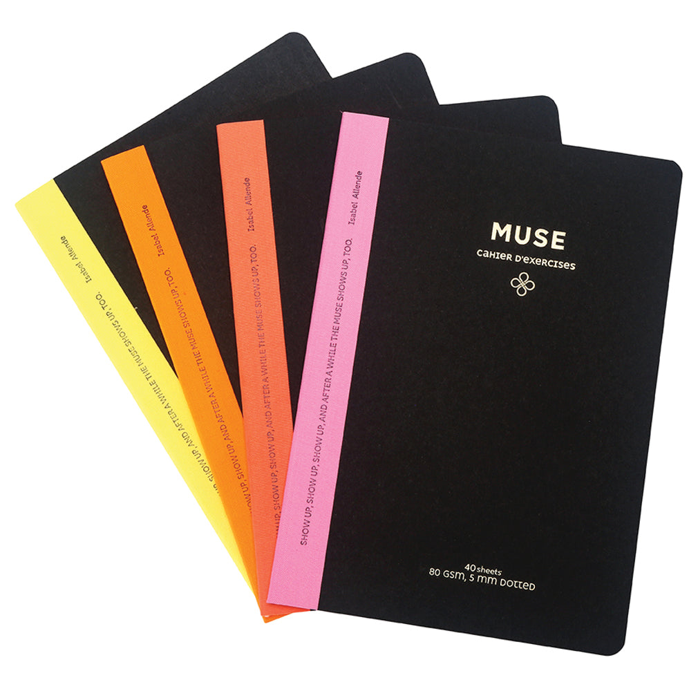 Muse Taylor Neon Bullet Journal Set - Victoria's Journals
