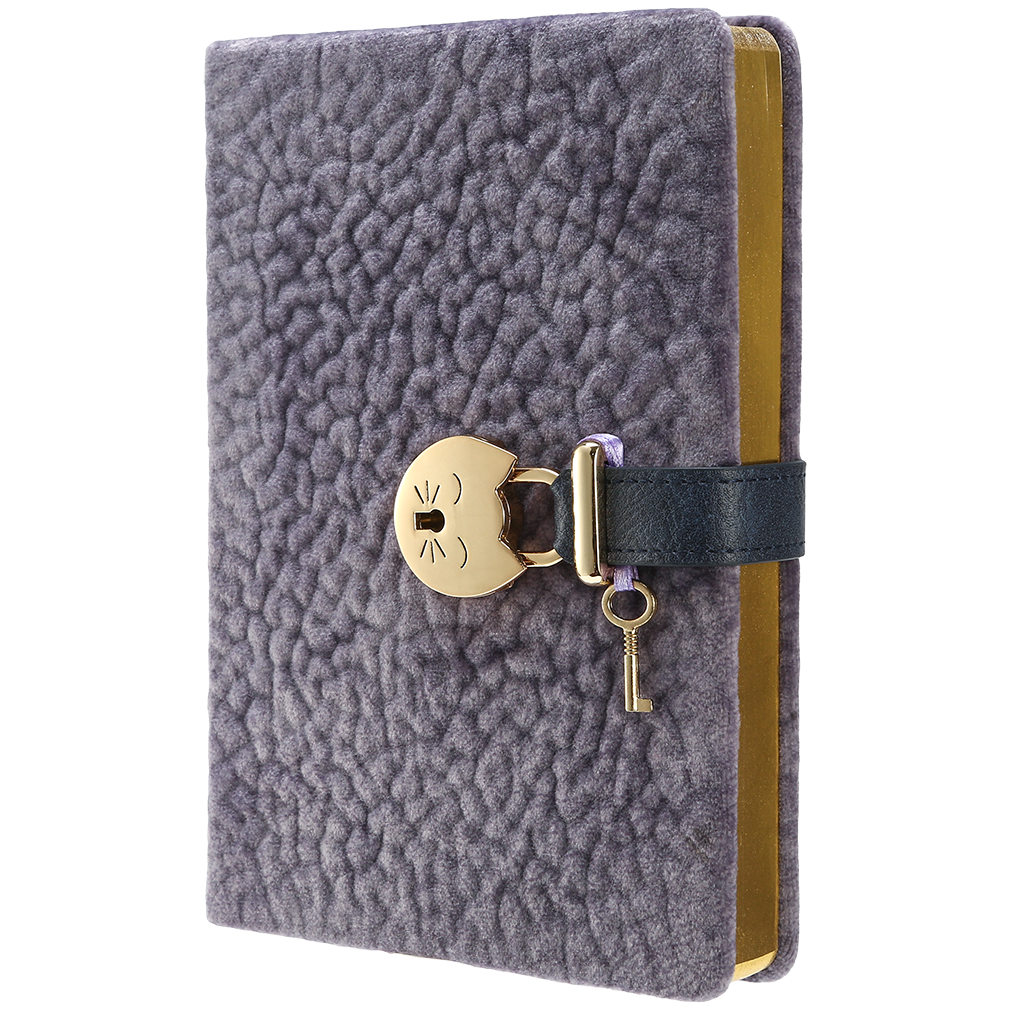 My Secret Diary Plush with CAT Lock - Victoria's Journals