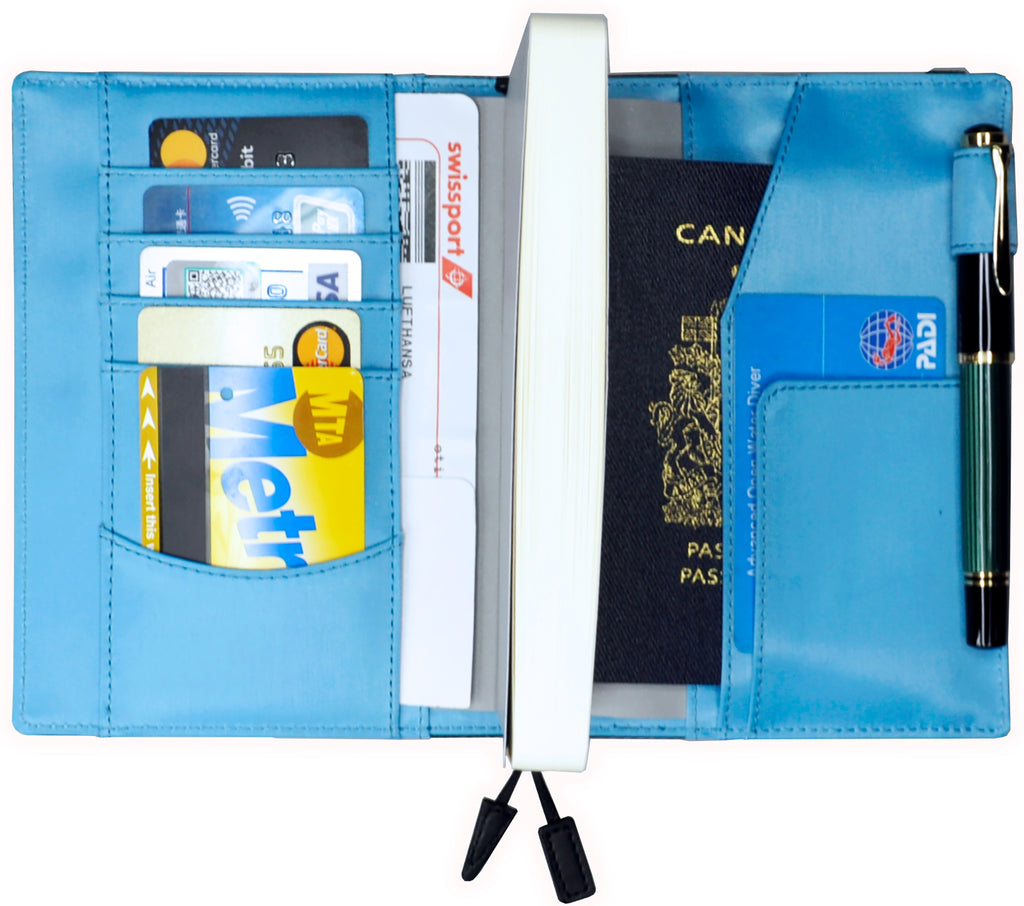 Copelle Undated Diary and Ruled Travel Journal Organiser A6 with Refill - Victoria's Journals