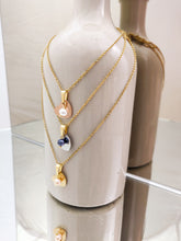 Load image into Gallery viewer, Heart Pearls | stainless steel silver / gold necklace