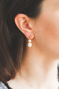 My Basic + | stainless steel silver / gold earrings