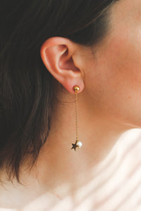 Stars are Blind | stainless steel silver / gold earrings