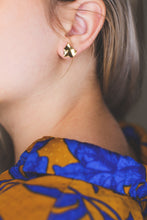 Load image into Gallery viewer, Space earrings | 925 sterling silver / gold earrings