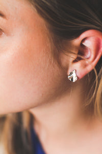 Space earrings | 925 sterling silver / gold earrings