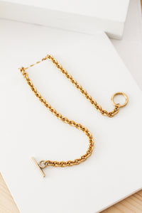 Big Simple Chain | stainless steel silver / gold necklace