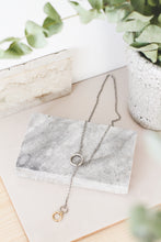 Load image into Gallery viewer, 00 Trough 0 | stainless steel silver / gold necklace