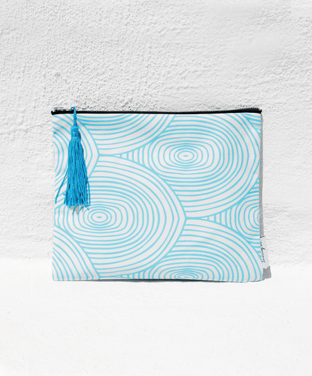 """Arc Light Blue"" pouch - Tomy K"
