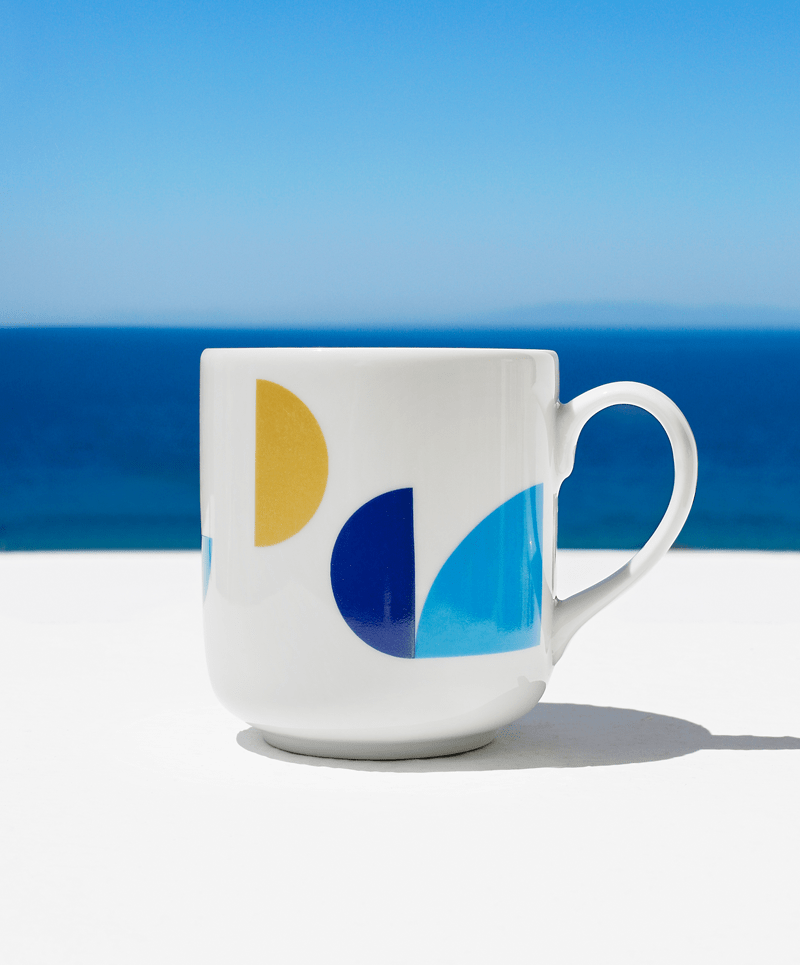 """Piece of Greece"" mug - Tomy K"