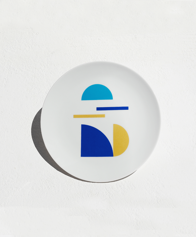 """Piece of Greece"" small plate - Tomy K"