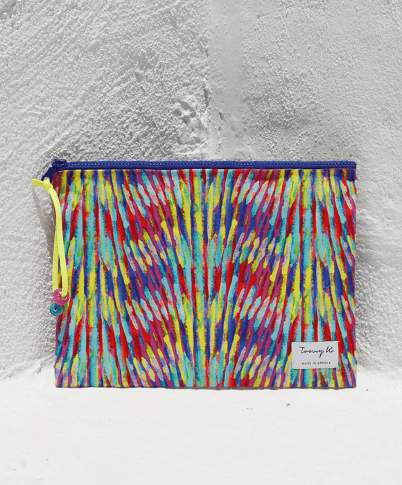 """Exotica"" big pouch - Tomy K"