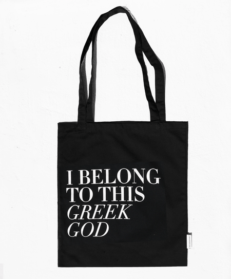"""Greek God"" tote bag - Tomy K"
