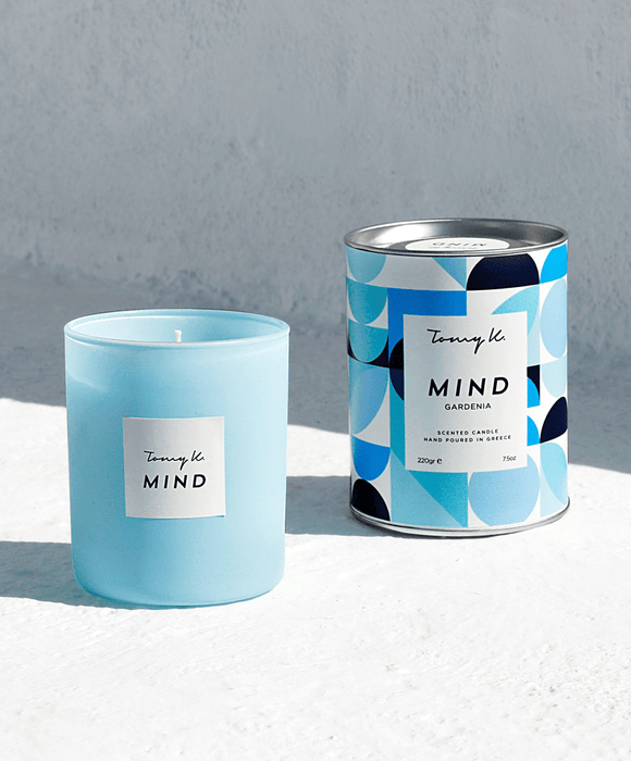 """Mind"" / Gardenia scented candle"