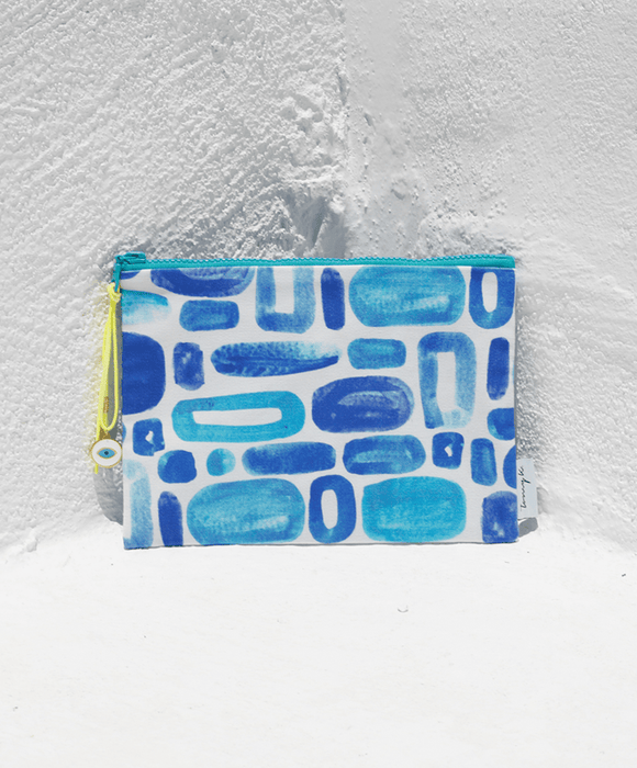 """Mosaico"" small pouch - Tomy K"