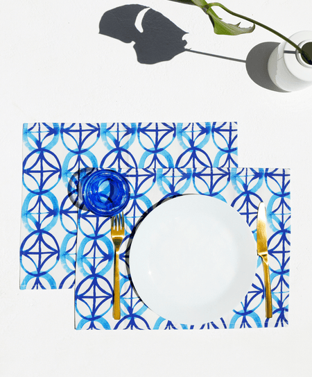 """Blue Star"" placemats - Tomy K"