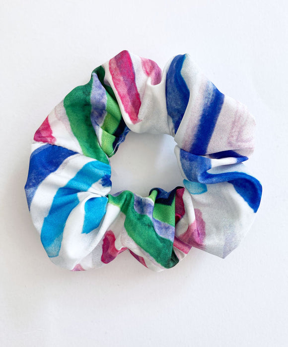 """Stripes"" scrunchie"