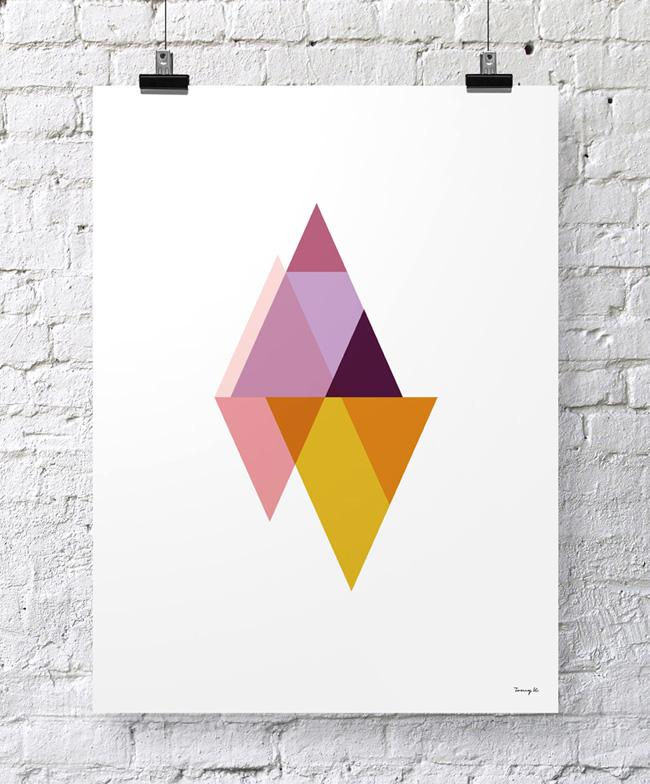 """Triangles I"" - Tomy K"